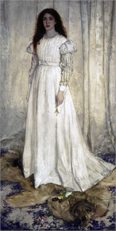 Symphony in White no 1 - 1862 - James Abbott McNeill Whistler (american painter)