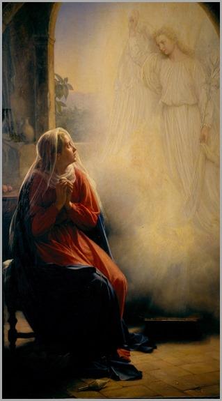 The Annunciation - Carl Heinrich Bloch (danish)