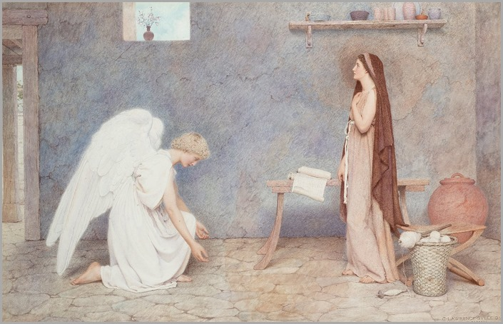 The Annunciation - George Lawrence Bulleid