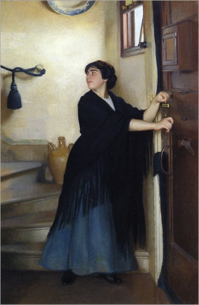 The Escape by William McGregor Paxton (american, 1869-1941)