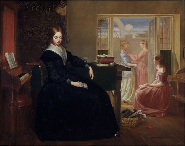 The Governess (1844). Richard Redgrave (1804-1888). Oil on canvas. Q&A Museum