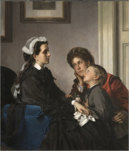 The governess-Alexandre Cabanel c. 1865-1870
