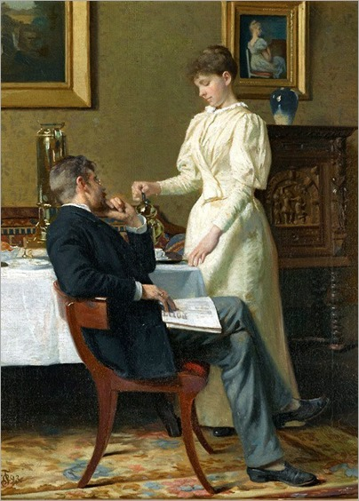 The Honeymoon - Carl Thomsen-1893