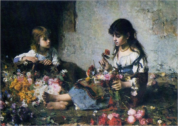 The Little Flower Seller-alexei-harlamoff