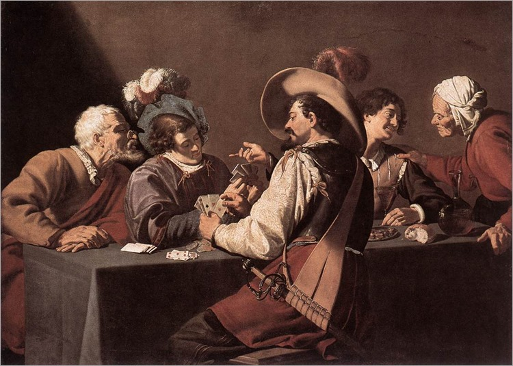 Theodor Rombouts_The Card Players1