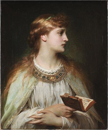 Thomas Francis Dicksee - Ophelia (ca. 1864)