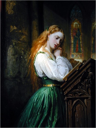 ThomasJonesBarker_margaritte_in_the_cathedral