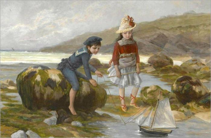 un-petit-ocean-Charles-Jean-Auguste Escudier (francês, nascido em 1848)