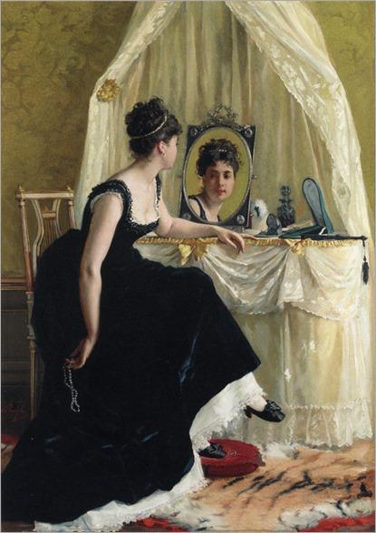 Vanity - Gustave Leonard de Jonghe (belgian painter)
