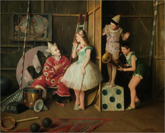 Vittorio Rignano (Italian 1860-1916)_the performers