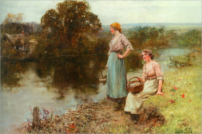 waiting_for_the_ferryman-Henry John Yeend King (english, 1855-1924)