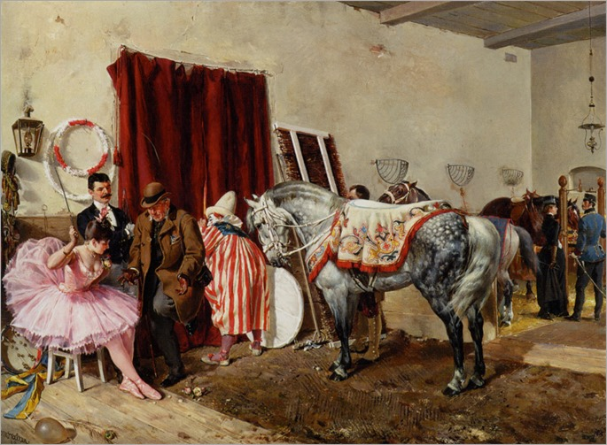 Walter_Ottokar_At_The_Circus_1889