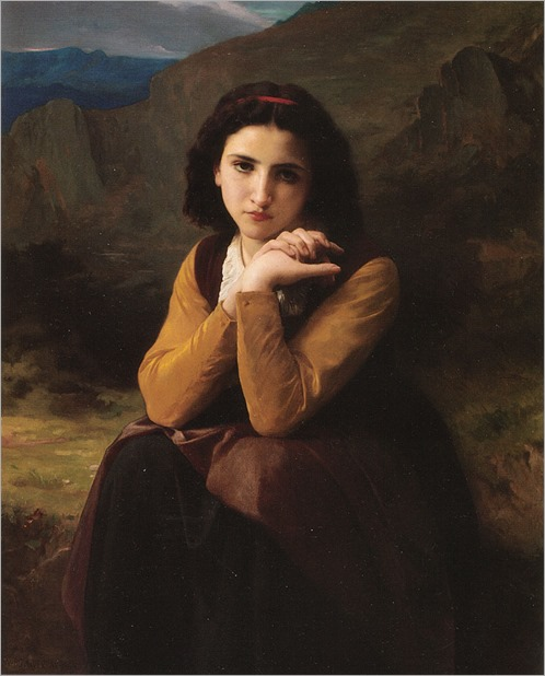 William Adolphe Bouguereau - Mignon-1869