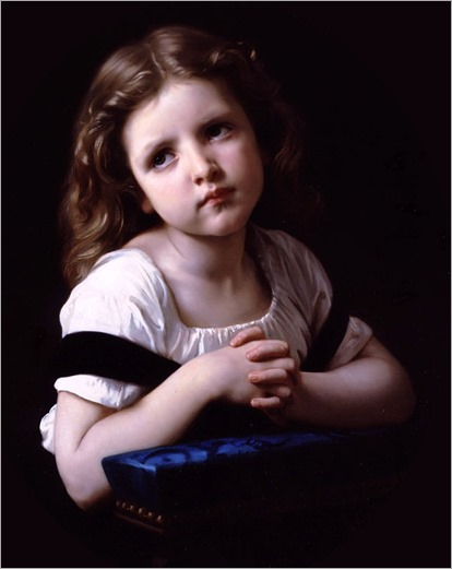 William-Adolphe_Bouguereau_(french, 1825-1905)_-_The_Prayer_(1865)_(cropped)