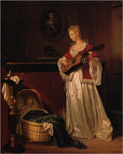 2.Sleep My Child -1788 - Marguerite Gerard (french)