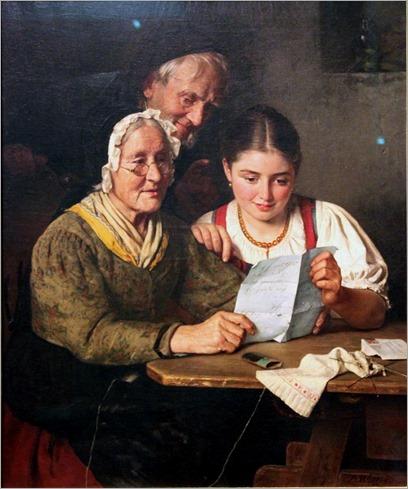 853px-1880 Berthold_Woltze_Ein_Brief_aus_Amerika