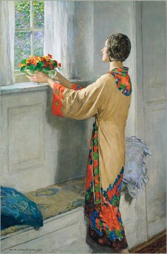 a new day-WILLIAM HENRY MARGETSON (english, 1861-1940)