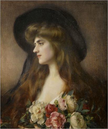 Albert Lynch (Peruvian, 1851-1912) - Reverie