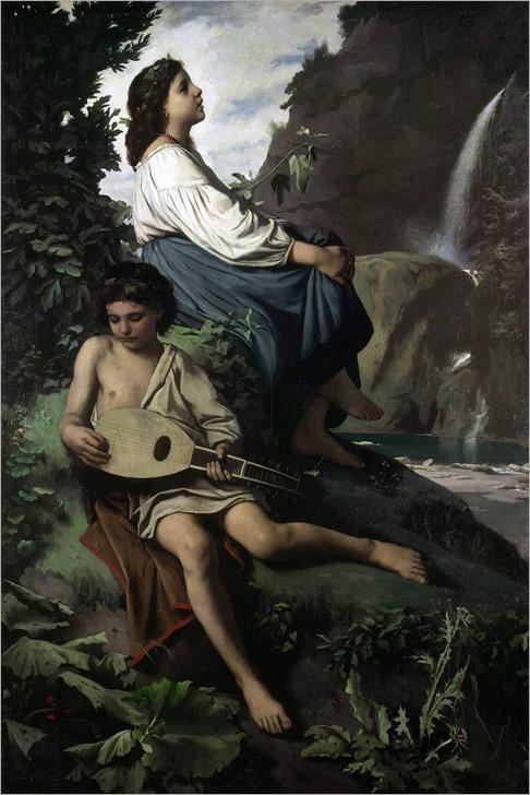Anselm Feuerbach - Ricordo di Tivoli