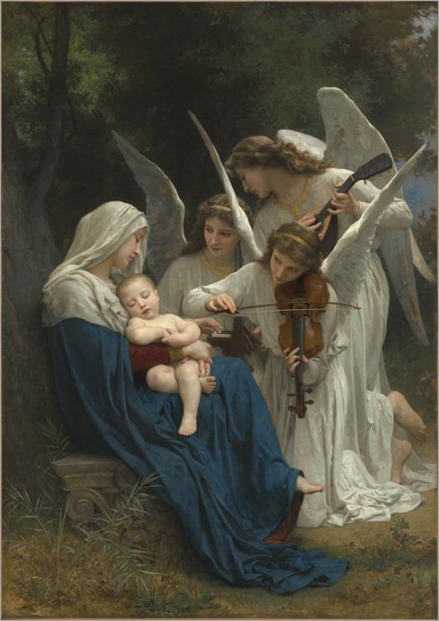 Bouguereau_Vierge_Aux_Anges_1881