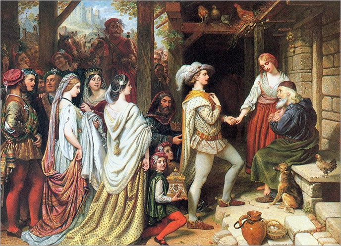 Charles West Cope (1811-1890)- The Marquis of Saluce Marries Griselda