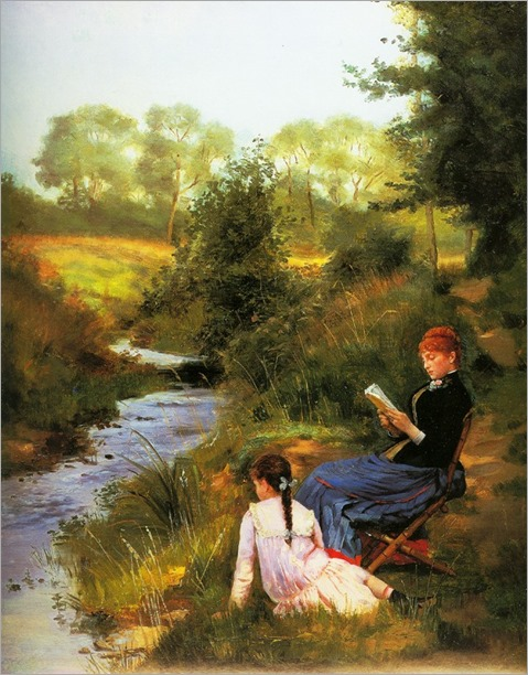Charles_Baugniet-a summer day