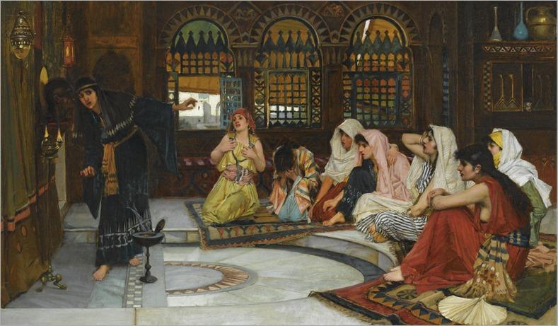 CONSULTING THE ORACLE_John William Waterhouse (british, 1849-1917)
