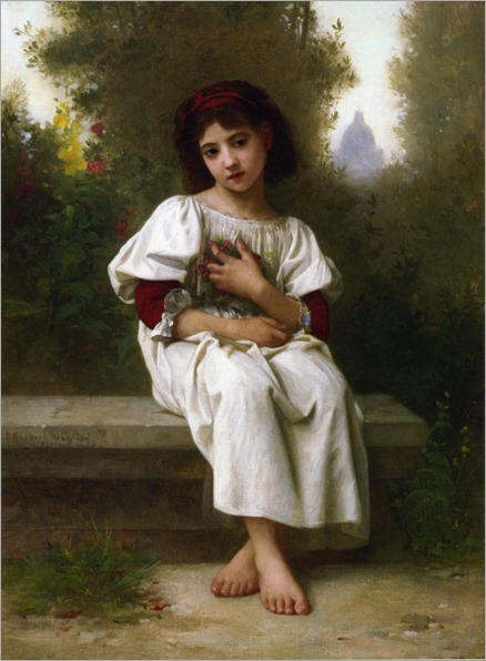 Elizabeth Jane Gardner Bouguereau - In the Garden