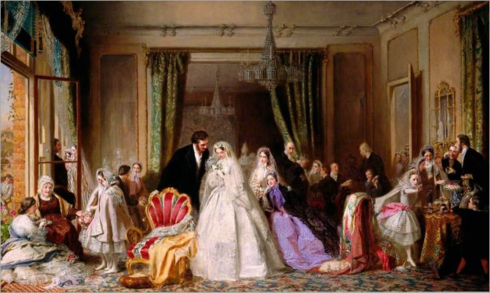George Elgar Hicks - Changing Homes 1862