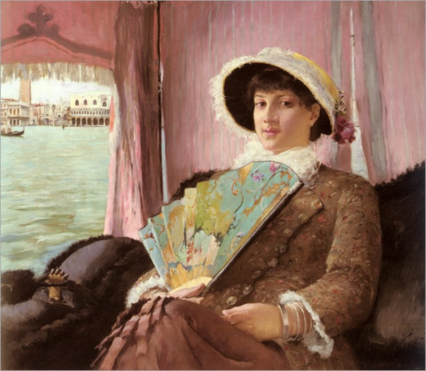 girl_in_a_gondola-GeorgPauli(1855-1935)