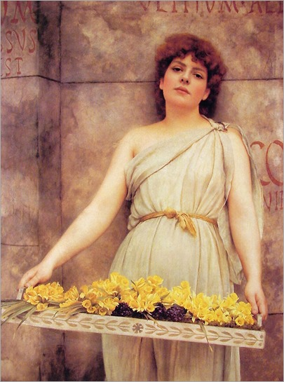 Godward_John_William_A_Flower_Seller
