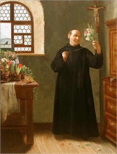 Hermann_Beyfus_1857-1897_MonkRomantic