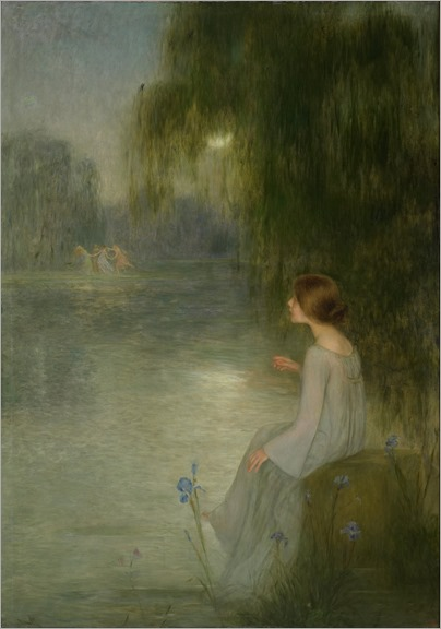 Joan Brull (Spanish, 1863-1912) -Dream (from Google Art Project)