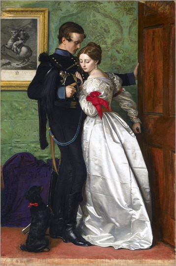 John Everett Millais: The Black Brunswicker.