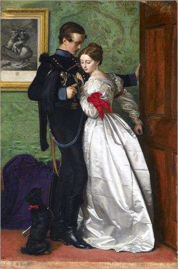 John Everett Millais: The Black Brunswicker.