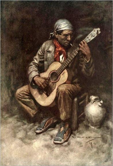Michael Arthur C. Un gitano granadino -1914
