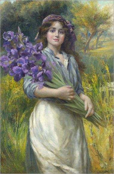 Norman Prescott-Davies (1862-1915)- Iris
