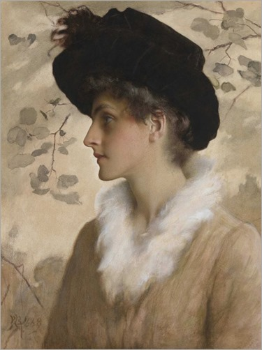Portrait of a Lady, George Henry Boughton. (1833 - 1905)