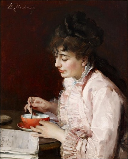 RAIMUNDO DE MADRAZO Y GARRETA (spanish 1841-1920)- PORTRAIT OF A LADY