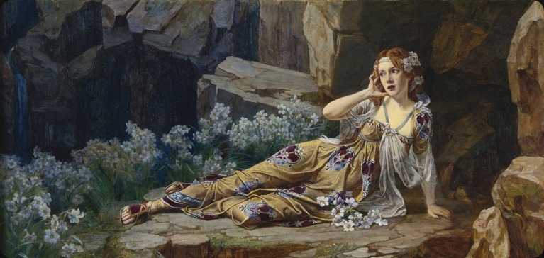 Talbot Hughes (british, 1869-1942)- Echo 1900
