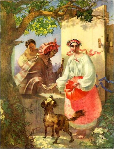 Taras Shevchenko - Gypsy fortune-telle