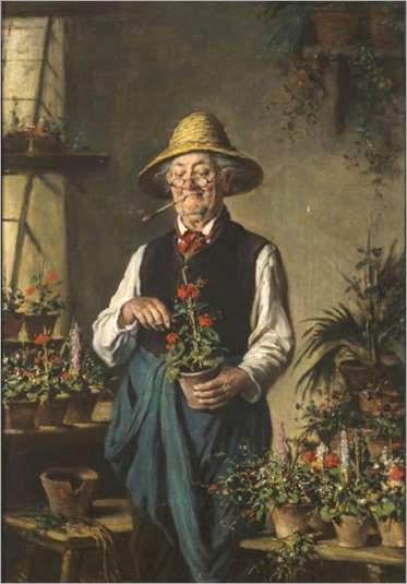 the happy gardener- Hermann Kern