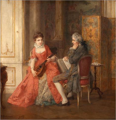 the music lesson - Otto Erdmann