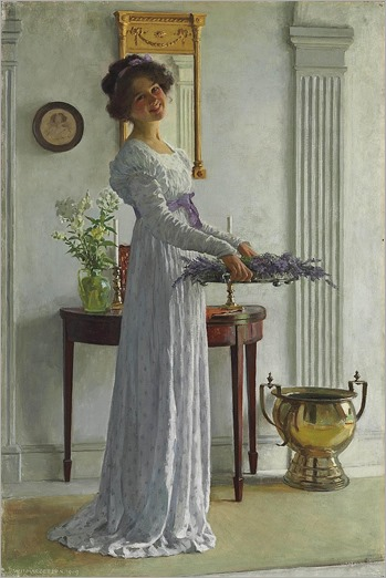 William Henry Margetson (1861-1940) - fresh lavander-1909