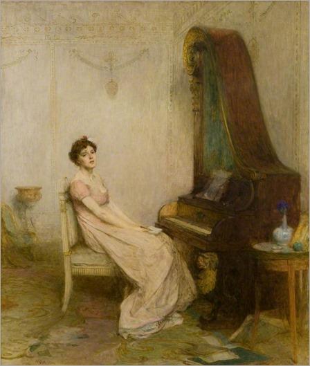 William Quiller Orchardson (scottish painter) - The lyric