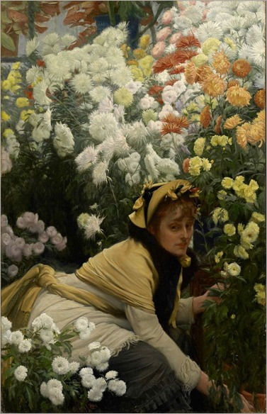 662px-James_Tissot_-_Chrysanthemums
