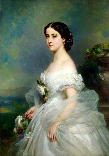 Adelina Patti - Franz Xaver Winterhalter