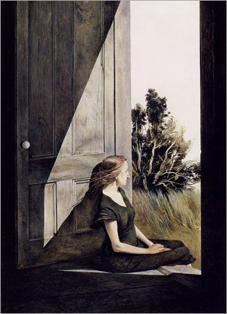 Andrew Wyeth - Christina Olson (1947)