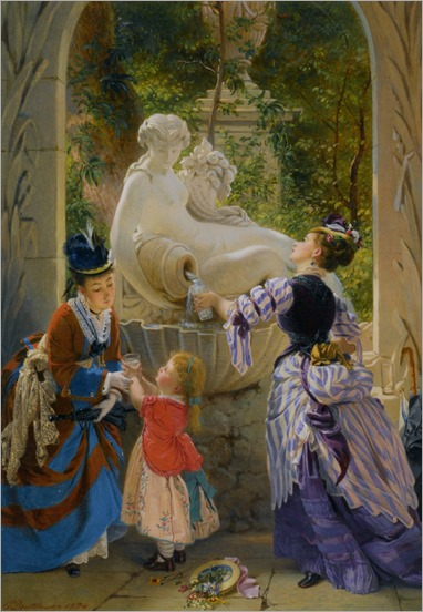 Boutibonne_Charles_Edouard_A_La_Fontaine_1874_