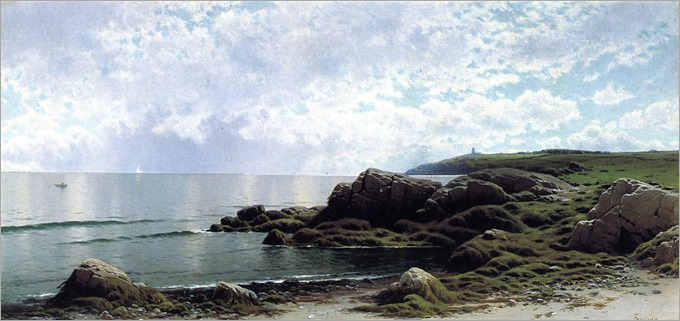 Bricher, Alfred Thompson, Low Tide at Swallow Tail, American 1837-1908